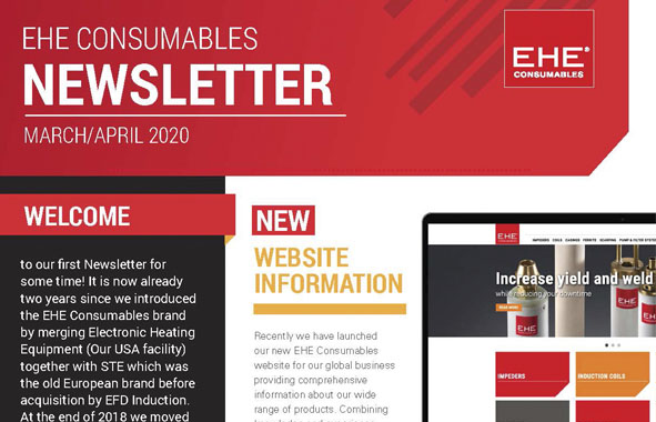 EHE Consumables Newsletter